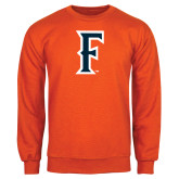 Orange Fleece Crew-F