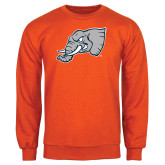 Orange Fleece Crew-Alternate Head