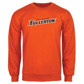 Orange Fleece Crew-Cal State Fullerton