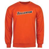 Orange Fleece Crew-Fullerton