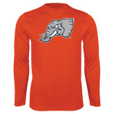 Performance Orange Longsleeve Shirt-Alternate Head