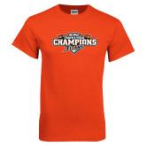 Orange T Shirt-2017 Big West Track & Field Champions