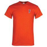 Orange T Shirt-F
