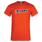 Orange T Shirt-Primary Logo