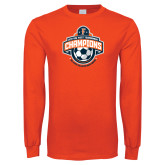 Orange Long Sleeve T Shirt-2017 Big West Mens Soccer Champions