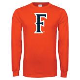 Orange Long Sleeve T Shirt-F