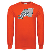 Orange Long Sleeve T Shirt-Alternate Head