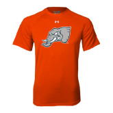 Under Armour Orange Tech Tee-Alternate Head