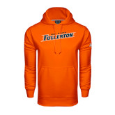 Under Armour Orange Performance Sweats Team Hoodie-Cal State Fullerton