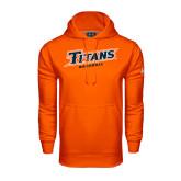 Under Armour Orange Performance Sweats Team Hoodie-Baseball