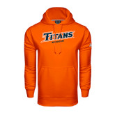Under Armour Orange Performance Sweats Team Hoodie-Soccer