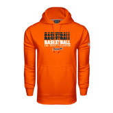 Under Armour Orange Performance Sweats Team Hoodie-Basketball Repeating