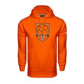 Under Armour Orange Performance Sweats Team Hoodie-Soccer Shield