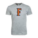 Next Level SoftStyle Heather Grey T Shirt-F
