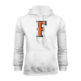 White Fleece Hood-F