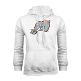 White Fleece Hoodie-Alternate Head