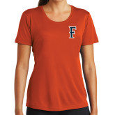 Ladies Syntrel Performance Orange Tee-F