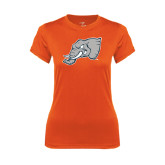 Ladies Syntrel Performance Orange Tee-Alternate Head