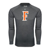 Under Armour Carbon Heather Long Sleeve Tech Tee-F