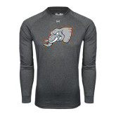 Under Armour Carbon Heather Long Sleeve Tech Tee-Alternate Head