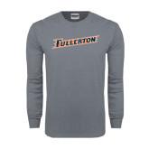 Charcoal Long Sleeve T Shirt-Fullerton
