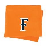 Orange Sweatshirt Blanket-F