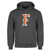 Charcoal Fleece Hoodie-F