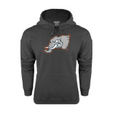 Charcoal Fleece Hoodie-Alternate Head