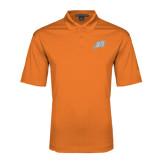 Orange Performance Fine Jacquard Polo-Alternate Head
