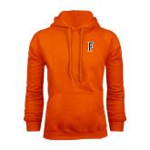 Orange Fleece Hood-F