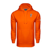 Under Armour Orange Performance Sweats Team Hoodie-F