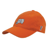 Orange Flexfit Mid Profile Hat-Alternate Head