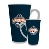 Full Color Latte Mug 17oz-2017 Big West Mens Soccer Champions