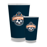 Full Color Glass 17oz-2017 Big West Mens Soccer Champions