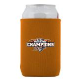 Neoprene Orange Can Holder-2017 Big West Track & Field Champions