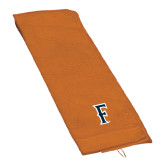 Orange Golf Towel-F