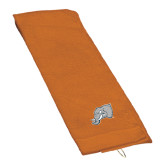 Orange Golf Towel-Alternate Head