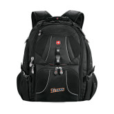 Wenger Swiss Army Mega Black Compu Backpack-Primary Logo