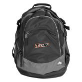 High Sierra Black Titan Day Pack-Primary Logo