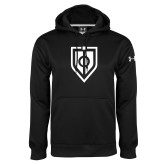 Under Armour Black Performance Sweats Team Hoodie-Shield