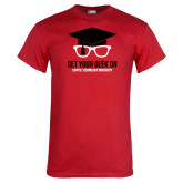 Red T Shirt-Get Your Geek On
