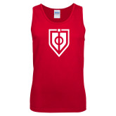 Red Tank Top-Shield