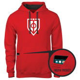 Contemporary Sofspun Red Hoodie-Shield