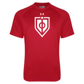 Under Armour Red Tech Tee-Shield