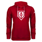 Adidas Climawarm Red Team Issue Hoodie-Shield