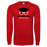 Red Long Sleeve T Shirt-Get Your Geek On