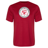 Syntrel Performance Red Tee-University Seal