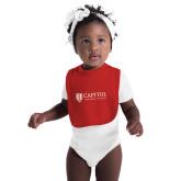 Red Baby Bib-Primary Mark