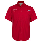 Columbia Bonehead Red Short Sleeve Shirt-Primary Mark
