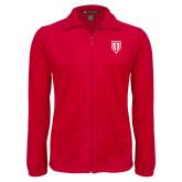 Fleece Full Zip Red Jacket-Shield